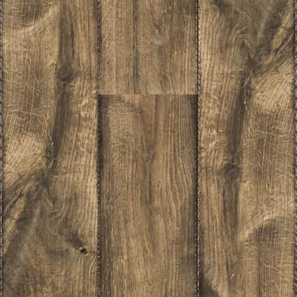 10mm Antique Farmhouse Hickory Laminate Flooring 6.26 in. Wide x 54.45 in. Long