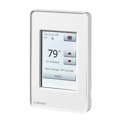 QuietWarmth Wifi Smart Touch Thermostat