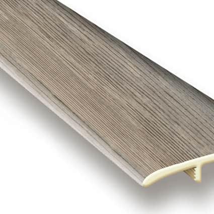 Edgewater Oak Vinyl Waterproof 1.75 in wide x 7.5 ft Length T-Molding