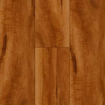7mm w/pad Brazilian Koa Waterproof Rigid Vinyl Plank Flooring 6 in. Wide x 48 in. Long