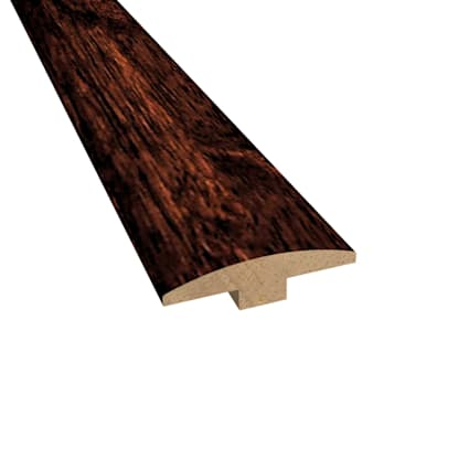 Prefinished Moroccan Cherry Hevea Hardwood 1/4 in thick x 2 in wide x 78 in Length T-Molding
