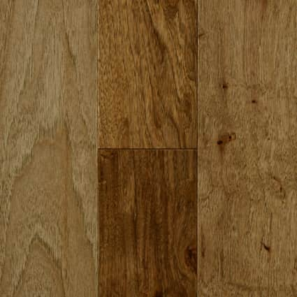 3/4 in. Copper Ridge Hickory Solid Hardwood Flooring 4 in. Wide