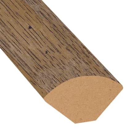Copper Sands Oak Laminate 0.75 in wide x 7.5 ft length Quarter Round
