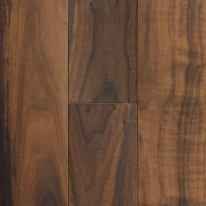 7 in. x 47 in. Elegant Wood American Walnut Porcelain Tile