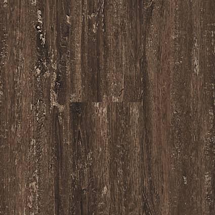 4mm Clear Lake Chestnut Waterproof Luxury Vinyl Plank Flooring 7.08 in. Wide x 48 in. Long