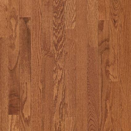 3/4 in. Gunstock Oak Solid Hardwood Flooring 2.25 in. Wide