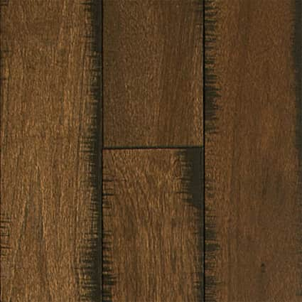 3/4 in. Pioneer Leather Hickory Solid Hardwood Flooring 5 in. Wide