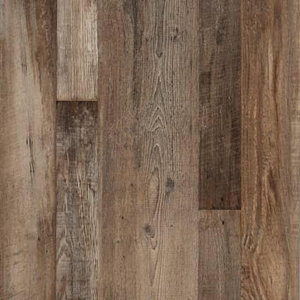 8mm w/pad Urban Loft Ash Waterproof Rigid Vinyl Plank Flooring 7 in. Wide x 48 in. Long