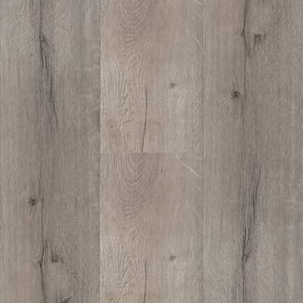 7mm w/pad Driftwood Hickory Waterproof Rigid Vinyl Plank Flooring 7 in. Wide x 48 in. Long