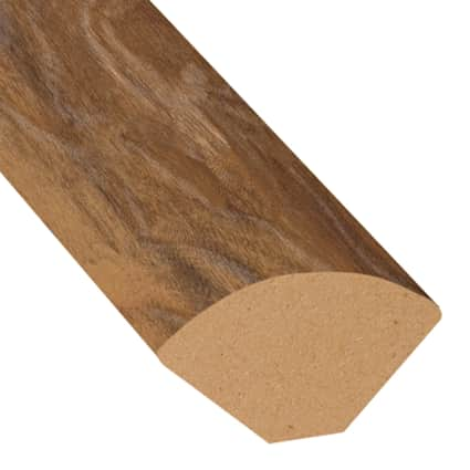 Natural Hackberry Laminate 0.75 in wide x 7.5 ft length Quarter Round