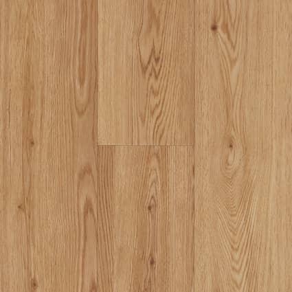 7mm w/pad Honey Mead Oak Waterproof Rigid Vinyl Plank Flooring 7 in. Wide x 48 in. Long