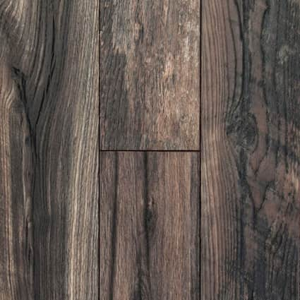 12mm Antique Wood Medley 24 Hour Water-Resistant Laminate Flooring 6.06 in. Wide x 50.66 in. Long