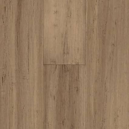 6mm Strand Toffee Engineered 72 Hour Water-Resistant Click Bamboo Flooring 5.125 in. Wide