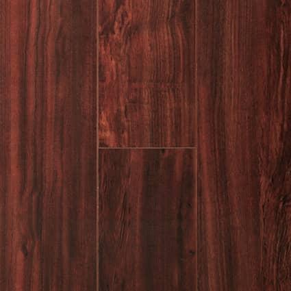 8mm Bloodwood Waterproof Rigid Vinyl Plank Flooring 7.13 in. Wide x 48 in. Long