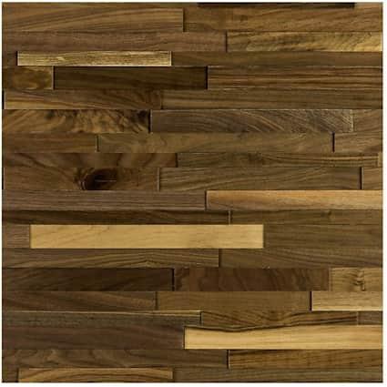 """9-3/16"""" x 48-7/16"""" American Walnut Decorative Wall Panel"""