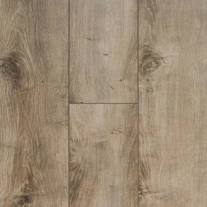12mm+pad Sandpiper Oak Laminate Flooring 6.18 in. Wide x 50.78 in. Long