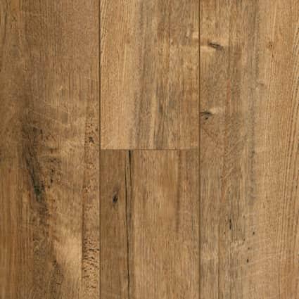 12mm+pad Copper Sands Oak Laminate Flooring 6.18 in Wide x 50.78 in. Long