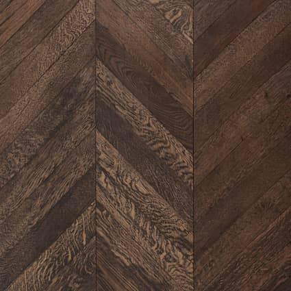 5/8 in. Manhattan Chevron Engineered Hardwood Flooring 11.5 in. Wide
