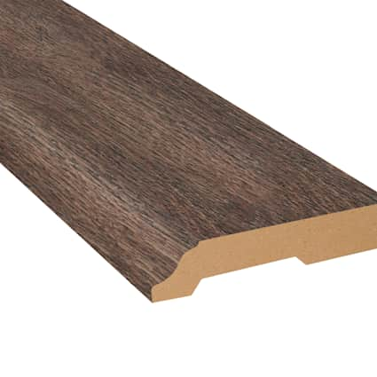 Antique Wood Medley Laminate 3.25 in wide x 7.5 ft Length Baseboard