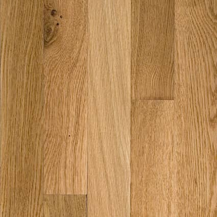 3/4 in. Character White Oak Solid Hardwood Flooring 5 in. Wide