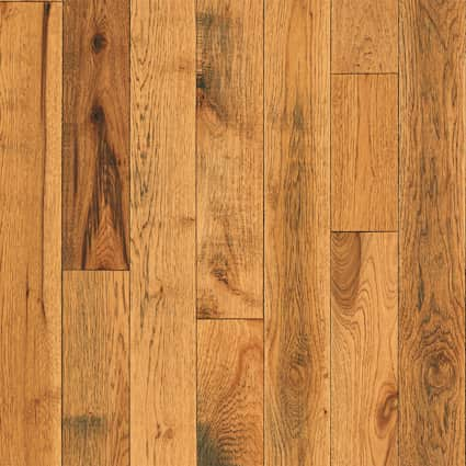 3/4 in. Pepperell Hickory Solid Hardwood Flooring 5 in. Wide