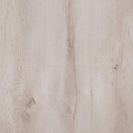 12mm Macadamia Oak 24 Hour Water-Resistant Laminate Flooring 7.56 in. Wide x 50.63 in. Long