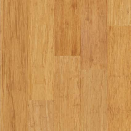 3/8 in. Strand Natural Wide Plank Engineered Click Bamboo Flooring 5.125 in. Wide