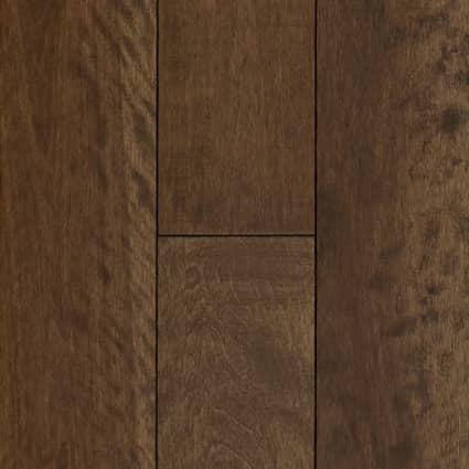 3/4 in. Newmarket Distressed Solid Hardwood Flooring 5.25 in. Wide