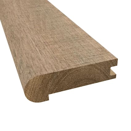 Prefinished Distressed Berkshire Hardwood 3/4 in thick x 3.125 in wide x 78 in Length Stair Nose
