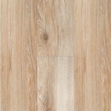 5mm w/pad Saint Florent Hickory Waterproof Rigid Vinyl Plank Flooring 7 in. Wide x 48 in. Long
