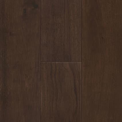 7mm+pad Walnut 72 Hour Water-Resistant Engineered Hardwood Flooring 7.5 in. Wide