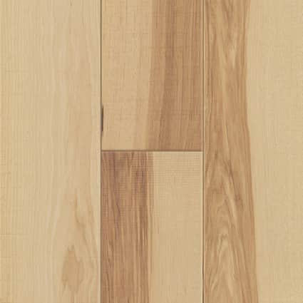 7mm+pad Natural Hickory 72 Hour Water-Resistant Engineered Hardwood Flooring 7.5 in. Wide