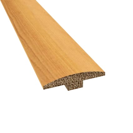 Prefinished Distressed Bellingham Hardwood 1/4 in thick x 2 in wide x 78 in Length T-Molding