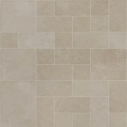 8mm Terrace Stone 24 Hour Water-Resistant Laminate Flooring 15.51 in. Wide x 46.47 in. Long