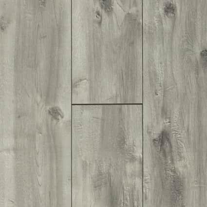 12mm Boylan Gray 72 Hour Water-Resistant Laminate Flooring 8 in. Wide x 47.638 in. Long