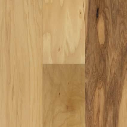 3/8 in. Kennecott Hickory Quick Click Engineered Hardwood Flooring 4.75 in. Wide