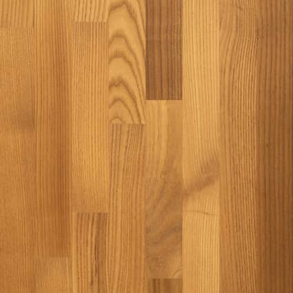 Unfinished Thermo Ash 1-1/2 in x 36 in x 6 ft Butcher Block Island Top