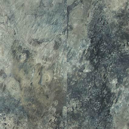 6mm w/pad Sierra Blue Slate Waterproof Rigid Vinyl Plank Flooring 12.01 in. Wide x 24 in. Long