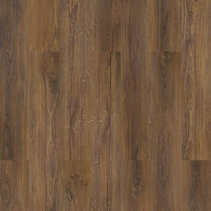 6mm Sylvan Brown Oak Waterproof Cork Flooring 7.677 in. Wide