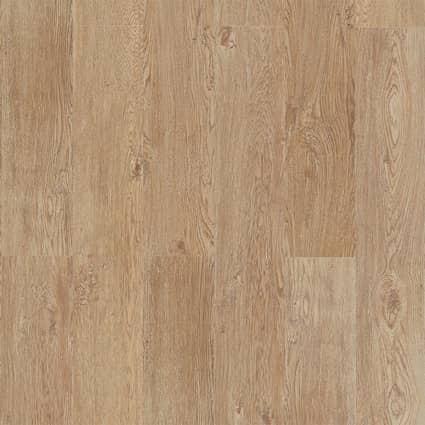 6mm Castle Raffia Oak Waterproof Cork Flooring 7.677 in. Wide