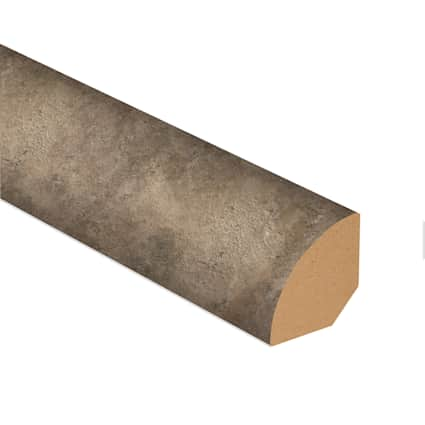 Twilight Terrace Stone Laminate 0.75 in wide x 7.5 ft Length Quarter Round