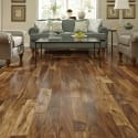 Acacia Quick Click Engineered Hardwood Flooring in Living Room