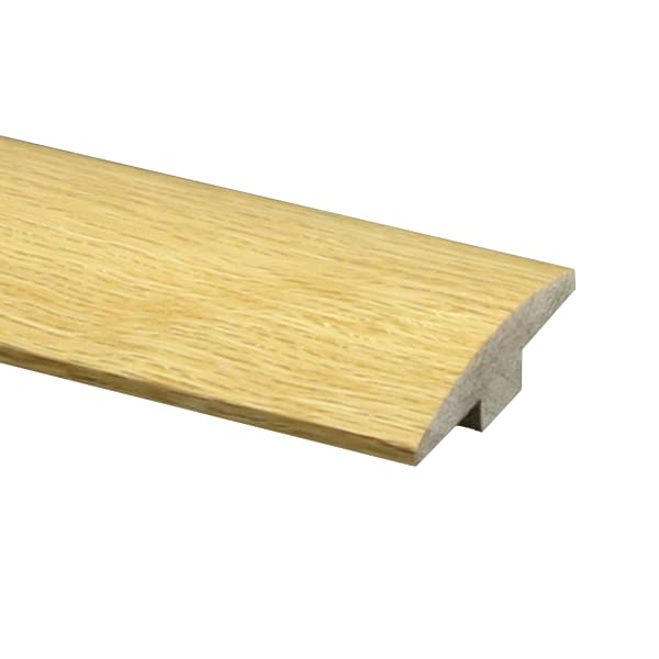 Prefinished Red Oak Hardwood 5 8 In Thick X 2 In Wide X 6 5 Ft Length T Molding Ll Flooring