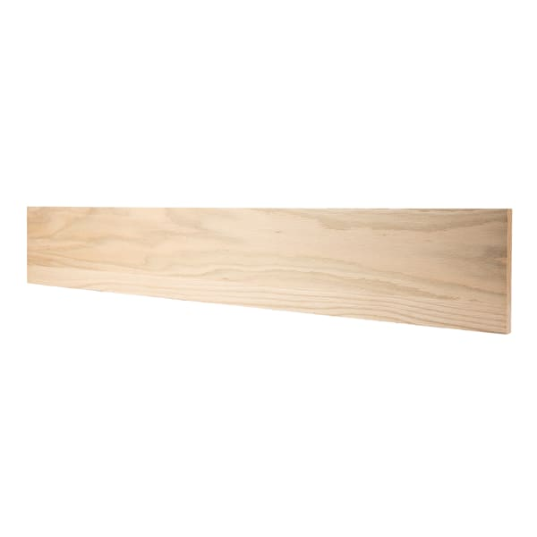 Unfinished Red Oak Solid Hardwood 3/4 in thick x 7.25 in wide x 48 in Length Riser