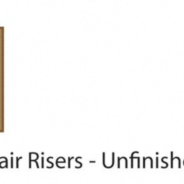 """36"""" Red Oak Riser"""