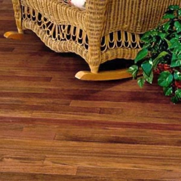 3/4 in. x 3.25 in. Brazilian Cherry Unfinished Solid Hardwood Flooring