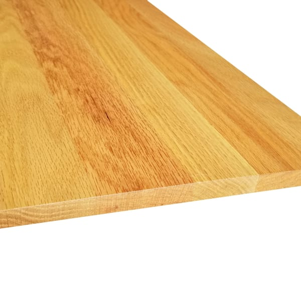 Prefinished Red Oak Solid Hardwood 5/8 in thick x 11.5 in wide x 36 in Length Retro Fit Tread