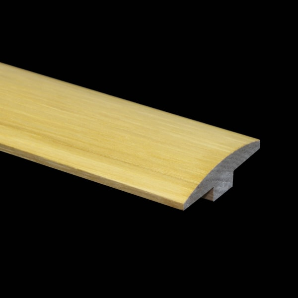 Prefinished Hickory Hardwood 5/8 in thick x 2 in wide x 6.5 ft Length T-Molding
