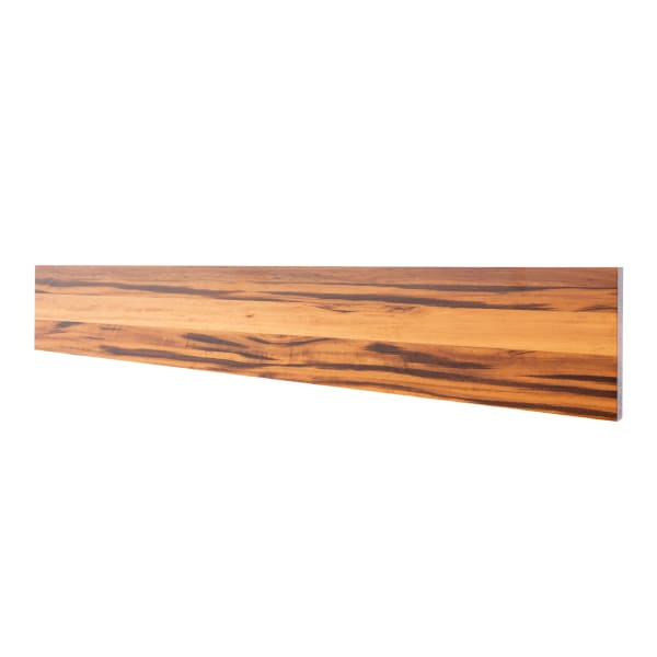 Prefinished Koa 3/4 in thick x 7.25 in wide x 48 in Length Rise