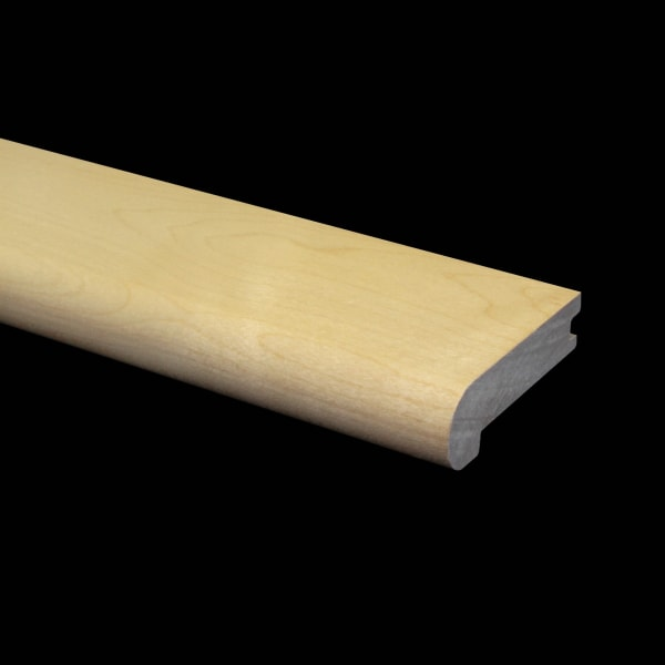 Prefinished Maple Hardwood 3/4 in thick x 3.125 in wide x 6.5 ft Length Stair Nose